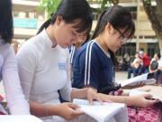Giáo dục - du học - Thí sinh lo lắng, hồi hộp chờ thi môn tổ hợp