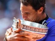 """"""" Bảo kiếm """"  cho Nadal: Hoàng đế thay kiếm, trở lại ngai vàng (Infographic)"""