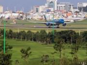 Đã ngưng mọi hoạt động xây dựng trong sân golf Tân Sơn Nhất