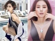 Thời trang - Phu nhân tỷ phú Hàn Quốc 50 tuổi vẫn nuột nà như thanh nữ
