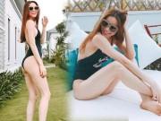 """Thời trang - Mỹ nữ Việt nào xứng danh """"nữ thần áo tắm một mảnh""""?"""