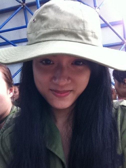 Bóc mẽ nhan sắc Hoàng Thùy Linh, Kỳ Duyên thời sinh viên học quân sự - 7