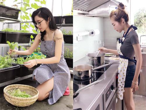 """3 hot girl giàu có, gợi cảm lại nấu ăn ngon """"thần sầu"""" - 2"""