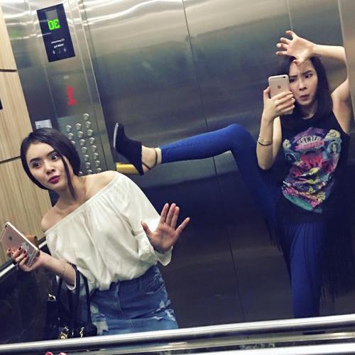 """Trong thang máy mà Hà Hồ, Mai Phương Thuý ăn mặc khiến fan """"rớt tim"""" - 10"""