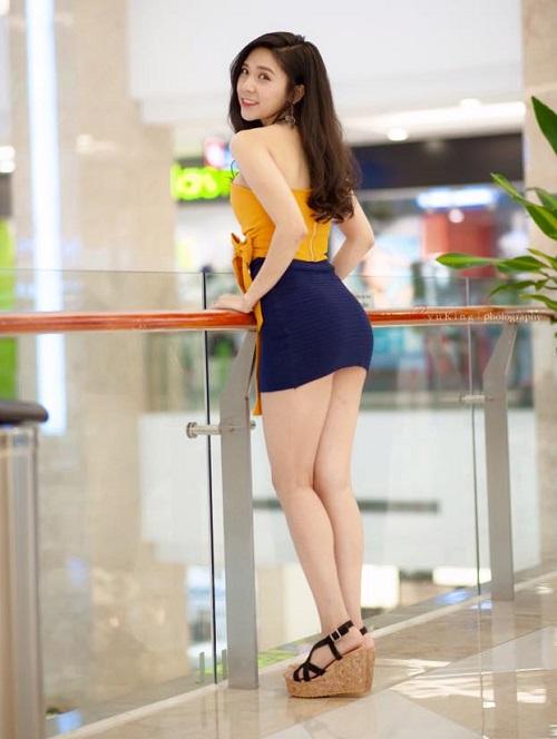 Bồ 9X xinh đẹp của Quang Lê mặc cực bốc lửa khi đi bơi, tập gym - 10