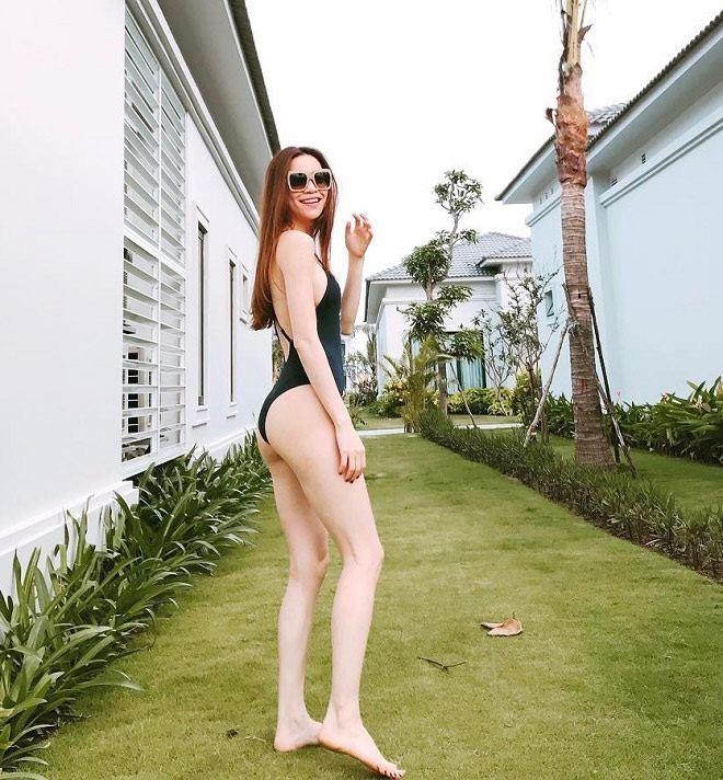 Nếu nghĩ Hà Hồ độn mông, xem ngay ảnh bikini này sẽ rõ - 3