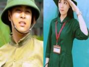 Phim - Bóc mẽ nhan sắc Hoàng Thùy Linh, Kỳ Duyên thời sinh viên học quân sự