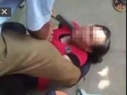 Tin tức trong ngày - Clip: Người dân dí dao vào cổ người phụ nữ nghi bắt cóc trẻ em