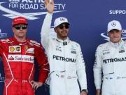 """Thể thao - Đua xe F1, Azerbaijan GP: """"Mũi tên bạc"""" xé tan mọi chướng ngại"""
