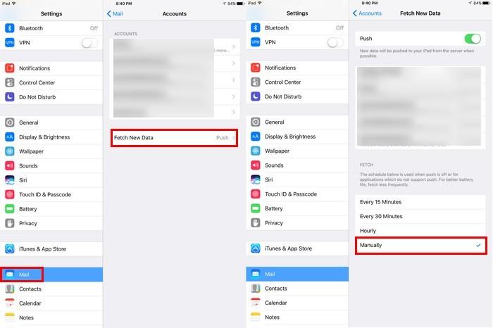Mẹo tăng thời lượng pin cho iPad - 2