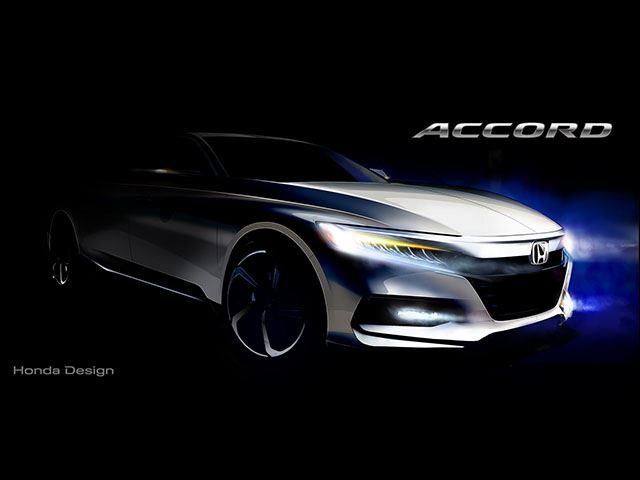 Honda Accord 2018 hoàn toàn mới sẽ ra mắt vào tháng 7