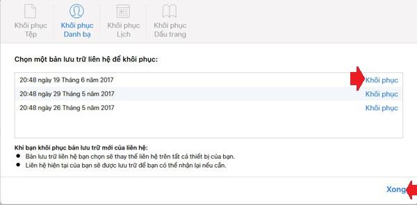 Hướng dẫn cách khôi phục danh bạ iPhone bị mất - 4