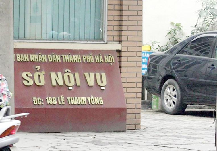 Sở Nội vụ Hà Nội có 8 phó giám đốc, dư 4 người