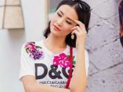 Đông Nhi, Minh Hằng chơi trội chi 28 triệu mua chiếc áo thun hoa hòe