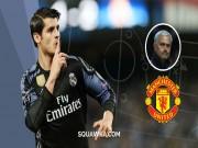 MU: Không Morata, không Ronaldo, Mourinho lắm mối tối nằm không