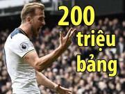 MU - Mourinho muốn Kane, Tottenham hét giá 200 triệu bảng