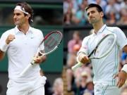 """BXH tennis 26/6: Federer  """" tốc hành """"  phía sau Djokovic"""