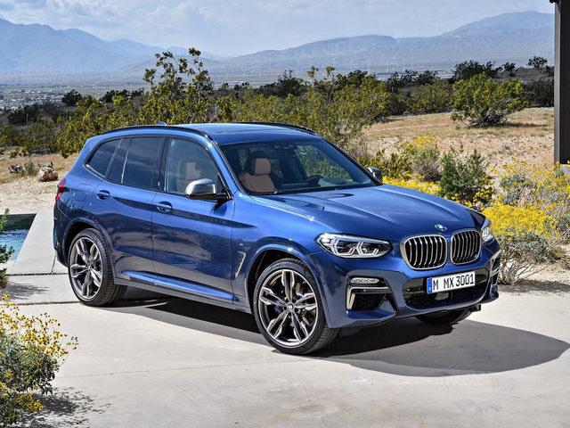 BMW X3 2018 hoàn toàn mới ra mắt