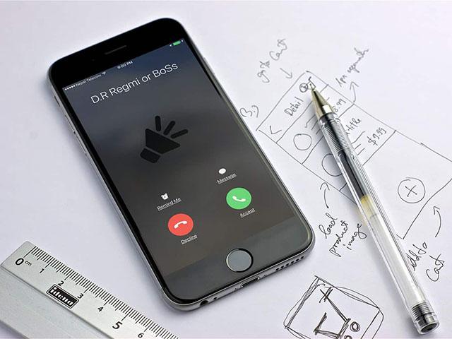 """""""Huấn luyện"""" iPhone đọc tên hoặc SĐT người gọi đến"""