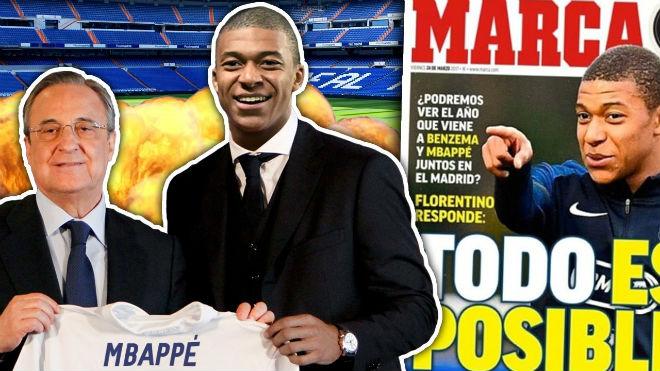 """Kỷ lục chuyển nhượng: Real dẫn đầu với Mbappe, MU đấu """"bài tẩy"""" Harry Kane"""