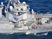 Thuyền trưởng tàu hàng tiết lộ lý do đâm chiến hạm Mỹ