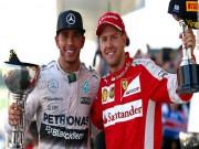 """Thể thao - Đua xe F1, Hamilton - Vettel """"choảng nhau"""": Hận thù không hồi kết"""