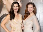 Khánh My xuyên thấu mong manh, đọ sắc với Hoa hậu Hoàn vũ