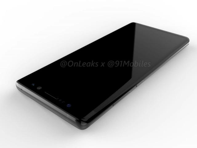 """Galaxy Note 8 xuất hiện với hình dáng... """"thật không thể tin nổi"""""""