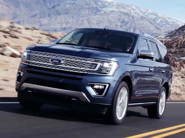 Ford Expedition 2018 chốt giá cao nhất 1,8 tỷ đồng