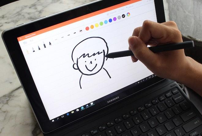 Đánh giá máy tính lai Galaxy Book 10,6-inches chạy Windows 10 - 5