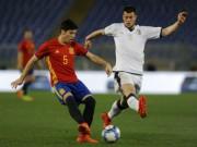 "U21 Tây Ban Nha - U21 Italia: Hat-trick  "" siêu nhân ""  21 phút (BK U21 châu Âu)"