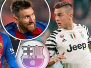 """Chuyển nhượng Barca: Cặp SAO 190 triệu bảng  """" chạy mất dép """"  vì Messi"""