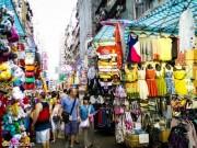 """Chợ Quý Bà, thiên đường mua sắm  """" hàng hiệu """"  giá rẻ bất ngờ ở Hong Kong"""