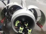 Phi thường - kỳ quặc - Tá hỏa vì hành khách TQ ném 9 đồng xu vào động cơ máy bay