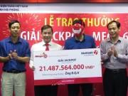 Người trúng jackpot 21,5 tỉ nhận giải, yêu cầu bảo mật danh tính