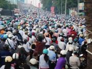 HN: Hơn 90% người dân đồng ý cấm xe máy trong nội đô