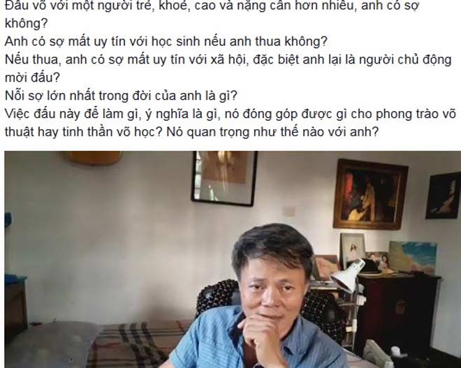 Võ sư Karate Việt Nam đấu Vịnh Xuân: Chẳng hề run sợ - 2