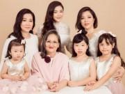 Khoe ảnh gia đình ba thế hệ mới thấy mẹ Lý Nhã Kỳ trẻ đẹp khó tin