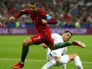 Góc chiến thuật Bồ Đào Nha - Chile: Ronaldo đặt không đúng chỗ