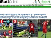 """Bóng đá - Báo chí thế giới: Hàng hớ Man City """"cướp sô"""" Ronaldo"""