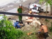 Tin tức trong ngày - Đèo 3 bỏ chạy tông vào xe CSGT làm 2 người bị thương