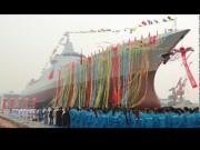 Thế giới - TQ hạ thủy tàu khu trục tên lửa 1 vạn tấn, mạnh nhất nhì châu Á