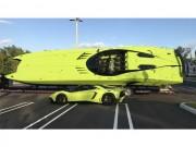 Tin tức ô tô - 50 tỷ đồng mua được Lamborghini Aventador và xuồng cao tốc cùng màu