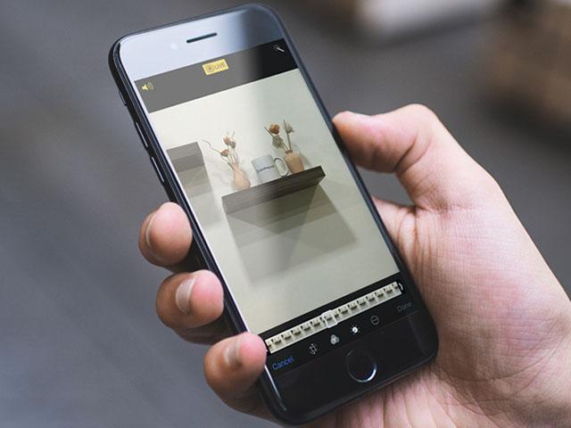 """Thủ thuật iOS 11: Tuyệt chiêu """"chế biến"""" ảnh Live Photo trên iPhone"""