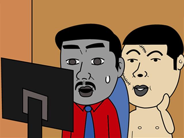 """Truyện tranh: """"Đàn ông không phải ngân hàng"""" - 4"""