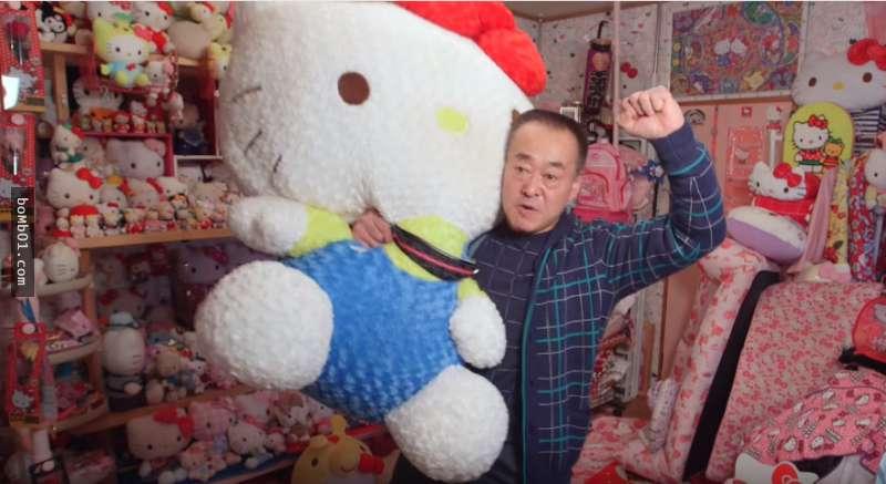Xôn xao bộ sưu tập hơn 10.000 Hello Kitty của cụ ông Nhật - 1