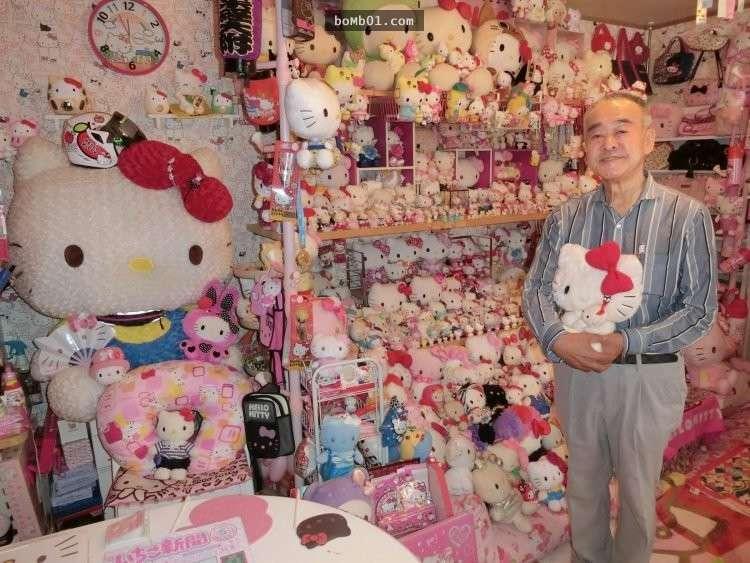 Xôn xao bộ sưu tập hơn 10.000 Hello Kitty của cụ ông Nhật - 2