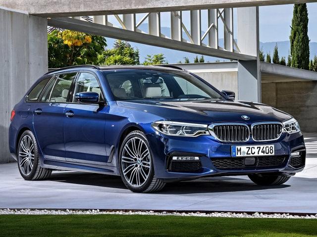 BMW 5-Series Touring 2017 có giá từ 2,2 tỷ đồng