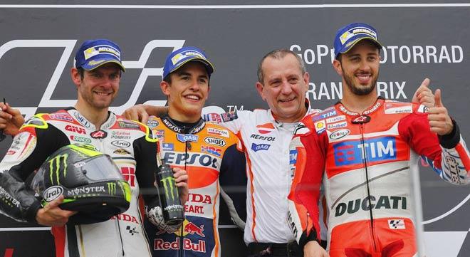 """Đua xe MotoGP: Huyền thoại công phá """"Thánh địa của bò tót"""" - 3"""