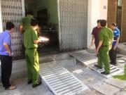 Nghi nổ mìn trước cửa doanh nghiệp, chủ bị thương nặng